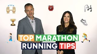 How to run a marathon - top tips from the pros