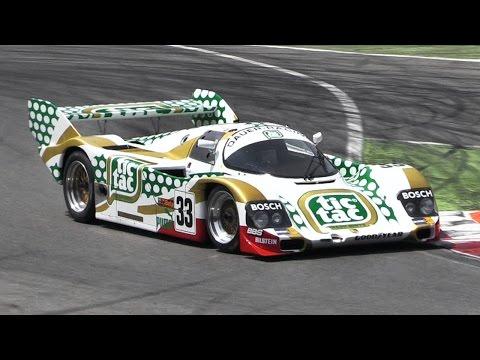 Group C Monsters Racing At Monza - Sauber C11 Vs Porsche 962 Vs Nissan R91 & More!!
