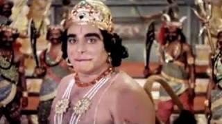 Hanuman sets fire in Lanka - Sampoorna Ramayan