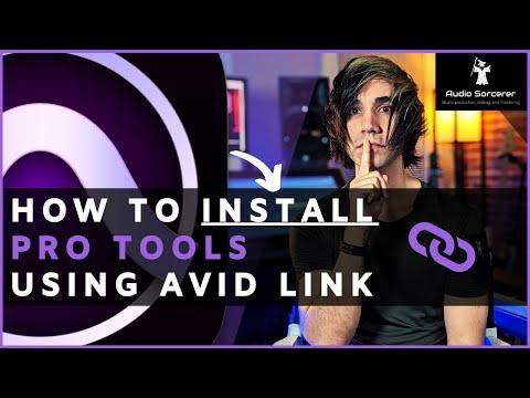 How To INSTALL Pro Tools Using Avid Link | Detailed Beginner Tutorial