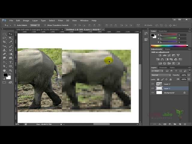 Adobe Photoshop cs6- 63- Smart Object