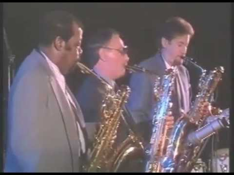 Baritone Sax Trio: Nick Brignola, Ronnie Cuber, Cecil Payne - Live in Berlin, Germany, Nov. 1985