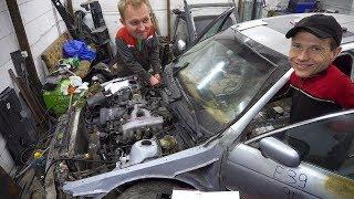 BMW Днище и первый запуск
