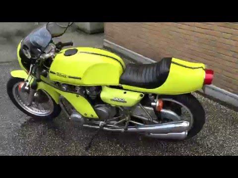 rickman cr 900 kawasaki z1 cafe racer - youtube