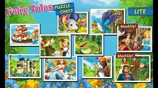 Princess Puzzles and Painting - Funny Puzzle Finger family Kids Learn Colors - Educational game