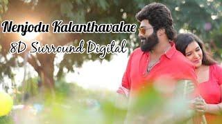 8D Surround    Nenjodu Kalanthavale - Sembaruthi    With Visualizer    8D Visualizing Tech   