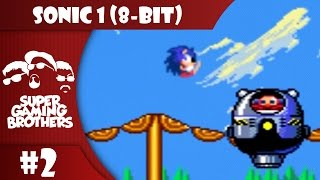 SGB Play: Sonic The Hedgehog (8-Bit) - Part 2 | So Much For This Being An Hour