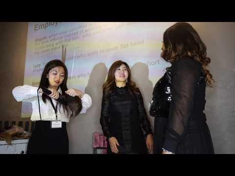 Hair Training: HOW TO WEAR TOP PIECE - 2018 SOHO Annual Meeting