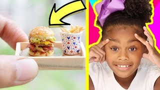 Clever Barbie Hacks and Mini Food