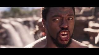 M'Baku of Jabari Tribe challenges the King T'Challa | Black Panther