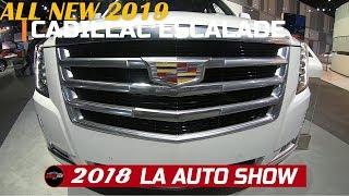 2019 Cadillac Escalade Platinum Exterior and interior Walkaround  - 2018 LA Auto Show