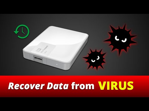 How to recover virus infected/hidden files from hard drive / usb pen drive