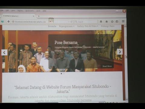 LAUNCHING WEBSITE RESMI FORUM MASYARAKAT SITUBONDO JAKARTA
