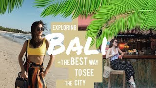 The Best Way to EXPLORE Bali w/ Venice Min | Nicole Andersson