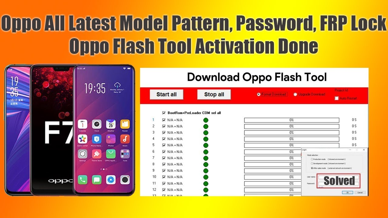 All Oppo New Models Pattern Lock, Password, FRP, Flash Done by FlashRepair1