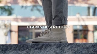 Clarks Desert Boots | The Icon