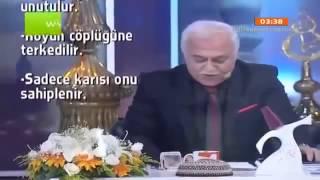 Nihat Hatipoğlu sahur programı Hz Eyyub un Hayatı Ve sabrı 01 08 2013 (Part3)