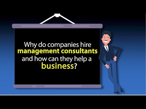 Why do companies hire management consultants and how can they help a business? by Safaraz Ali
