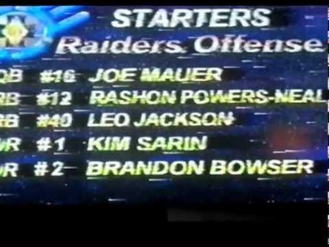 Leo Jackson vs. Marion Barber/Otis Smallwood (High School 2000)