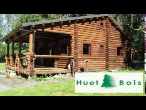 huet bois construction chalet chalet en rondin fabricant chalet construire un chalet youtube. Black Bedroom Furniture Sets. Home Design Ideas