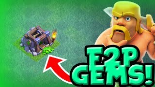HOW TO GET FREE GEMS AS A F2P IN COC - NEW BUILDER BASE UPGRADES - Clash of Clans
