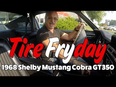 MotoX Tire Fryday: 1968 Shelby Mustang Cobra GT350