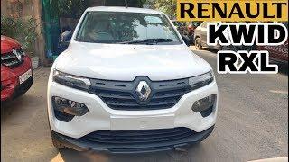 Renault Kwid Facelift RXL 2019 Walkaround In Hindi🔥Renault Kwid Facelift Interior, Exterior, Prices