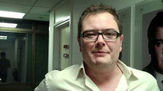 Alan Carr: Chatty Man - getting ready for the show