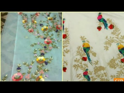 Punjabi Suit Embroidery Designs Collection for Women|Beautiful Embroidery Suit Designs|#SJB