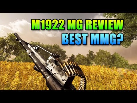 M1922 MG Upgraded Review – New Best MMG? | Battlefield V – GamePlay