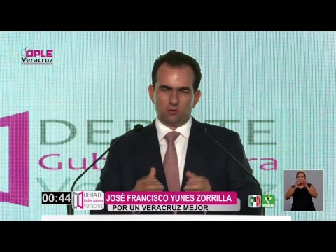 Primer Debate a la Gubernatura del Estado de Veracruz