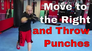 Boxing Footwork | Moving to the Right While Punching