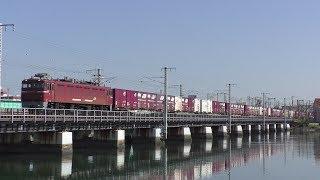 【JR貨物】4081レ ED76-1016 東札幌日通積載