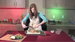 Smoked Chicken & Spinach Calzone