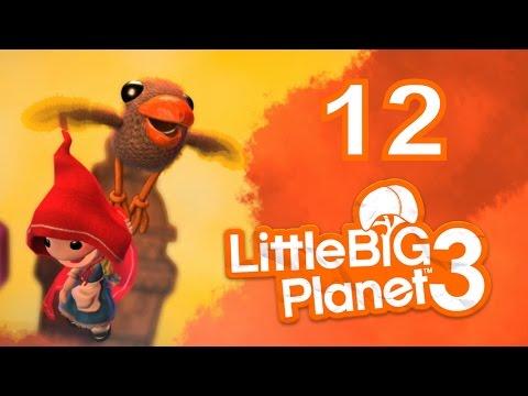 LittleBigPlanet 3 Let's Play PS4 Walkthrough 12 - Swoop + Cloud Caravan