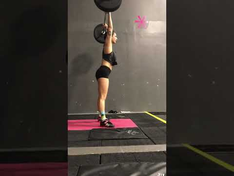 Power clean and jerk 76%x2