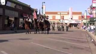 1st Infantry Division Band at KSU Band Day - 09262009