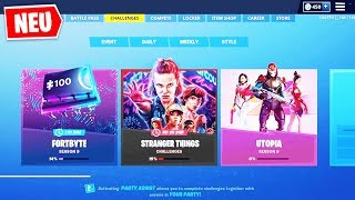 ❌GRATIS❌ STRANGER THINGS CONFIDENTIAL! | Fortnite X Stranger Things