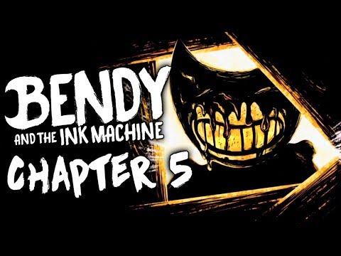 ФИНАЛ БЕНДИ! 5 ГЛАВА ► Bendy And The Ink Machine Chapter 5 Прохождение
