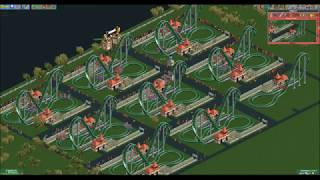 Unofficial] OpenRCT2 speedrun: Amity Airfield completed in