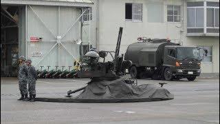 対空機関砲VADS射撃!【空対地射爆撃展示】