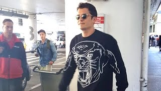 Orlando Bloom Is Asked If He's Invited To Ex-Wife Miranda Kerr's Wedding