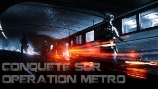 Battlefield 3 - Conquête sur Opération Métro + ENOORME BEUUG [HD]
