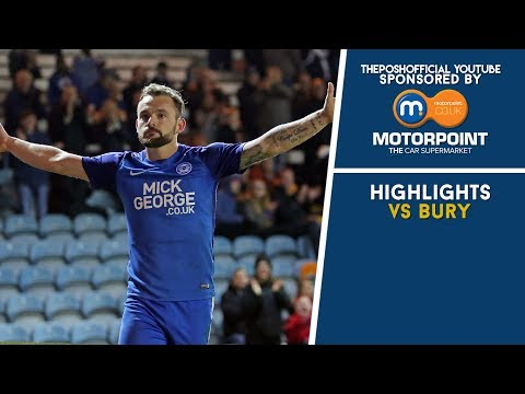 HIGHLIGHTS | The Posh vs Bury