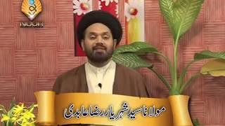 Lecture 5 (Nikah) Valima by Maulana Syed Shahryar Raza Abidi