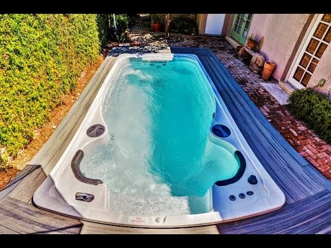 Taking a Closer Look at Hydropool Swim Spas - YouTube