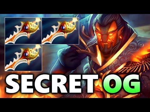 What A Game! Mass Rapiras! - SECRET vs OG - MDL DOTA 2