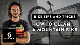 How to Clean a Mountain Bike with Yanick the Mechanic