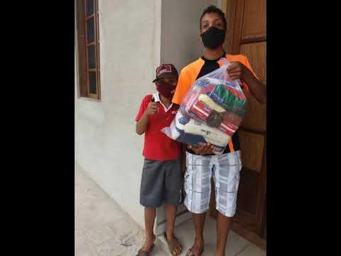 Doações de cestas pela amar.elo