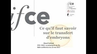 Maud Caillaud - Le transfert d'embryon équin thumbnail